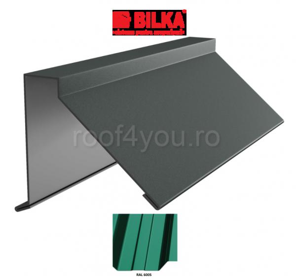 Semicoama industriala BILKA Lucios 0,5 mm / 312 mm / RAL 6005 0