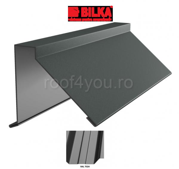 Semicoama industriala BILKA Lucios 0,5 mm / 312 mm / RAL 7024 0