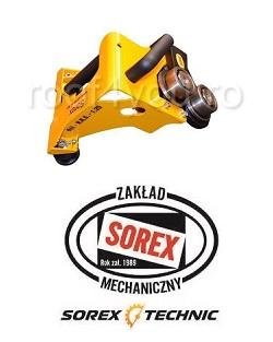 Set abkant manual latime 3m / 0,7 mm ZRS 3160 cu pedale, masa de lucru si taietor Sorex [3]