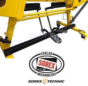 Set abkant manual latime 3m / 0,7 mm ZRS 3160 cu pedale si taietor Sorex [5]