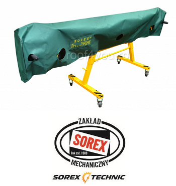 Set abkant manual lungime 2.36 m / 0,8 mm ZRS 2360 cu pedale, husa si taietor Sorex 5