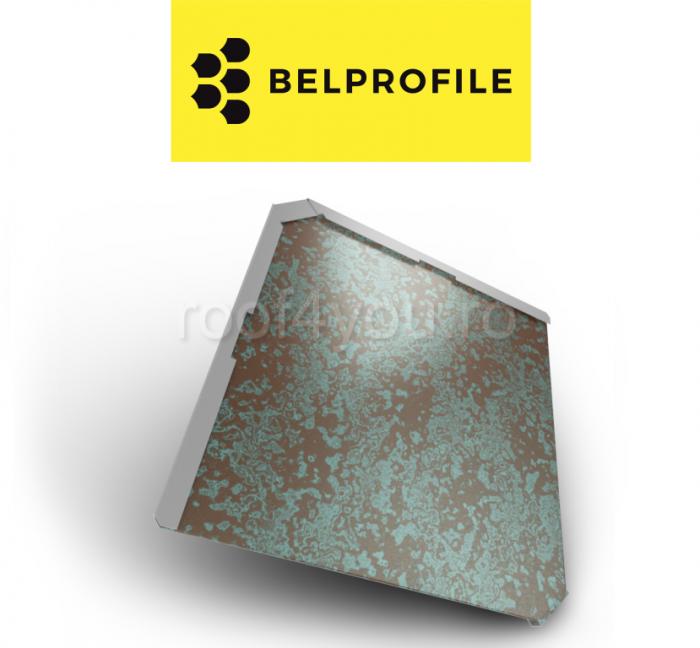 "Solzi BELPROFILE QUADRA, suprafata ""PrinTech"", grosime 0.6 mm, RAL WEATHERED 0"