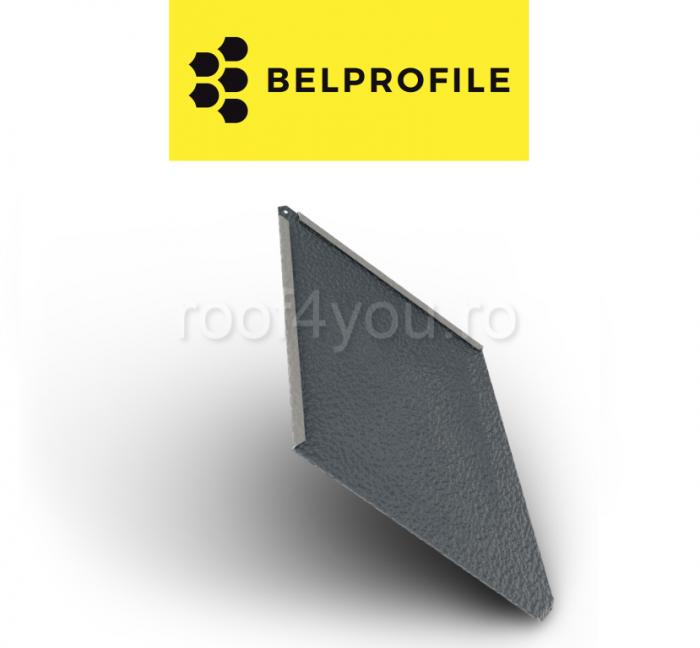 "Solzi BELPROFILE ROMBO, suprafata ""Aluminiu Embosat"", grosime 0.7 mm, RAL 7016 0"