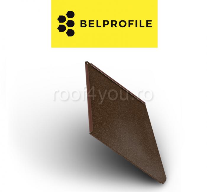 "Solzi BELPROFILE ROMBO, suprafata ""PrinTech"", grosime 0.6 mm, RAL KORTEN 0"