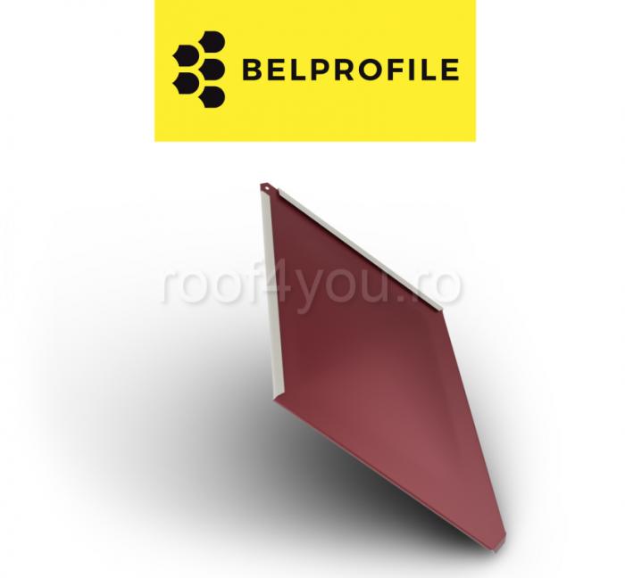 """Solzi BELPROFILE ROMBO, suprafata """"SunClear"""" (lucios), grosime 0.6 mm, RAL 3005 0"""