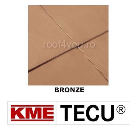 Tabla cupru 0.7mm KME Tecu Bronze (foaie 670 x 2000mm) 0