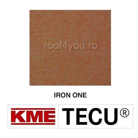 Tabla cupru 0.6mm KME Tecu Iron One (folie 1000 x 2000mm) 0