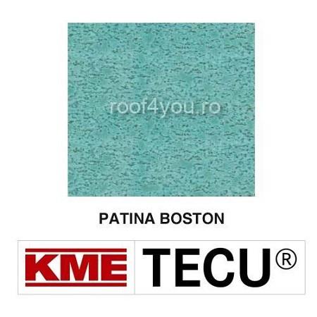 Tabla cupru 0.6mm KME Tecu Patina Boston (foaie 1000 x 2000mm) 0