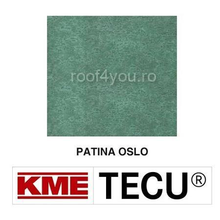 Tabla cupru 0.6mm KME Tecu Patina Oslo (foaie 1000 x 3000mm) 0