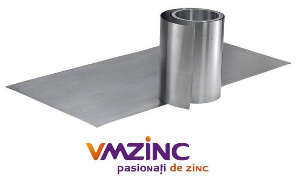 Tabla faltuita din titan zinc natural VMzinc 0.6 mm (rulou latime 650mm) [0]
