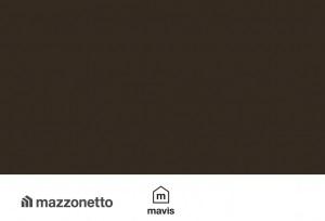 Tabla plana din otel prevopsit DX51 sub forma de rulou cu latimea de 670mm, lungimea de 30m si grosimea de 0.55mm, RAL 8019 MAZZONETTO MAVIS 0
