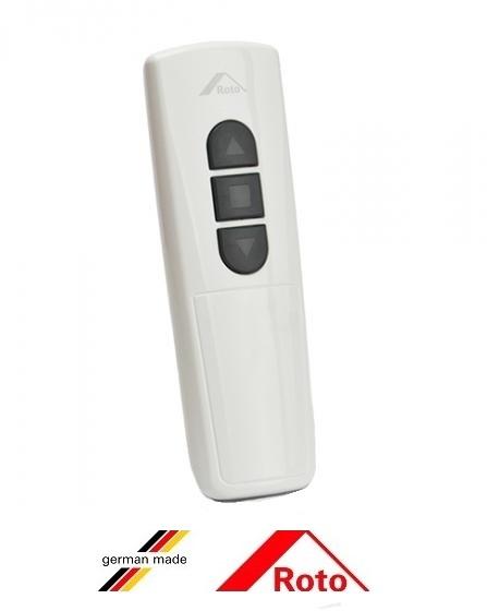 Telecomanda cu display Roto STG ZSU HS10, SII negru / WII alb [2]