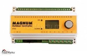 Termostat temperatura / umiditate ETO-4550, 3 x 16A, 230V 0