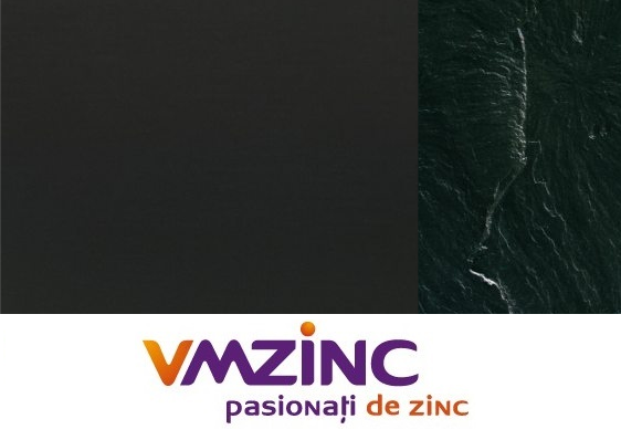 Tabla faltuita din titan zinc Anthra VMzinc 0.65mm (foaie 1000x2000mm) 0
