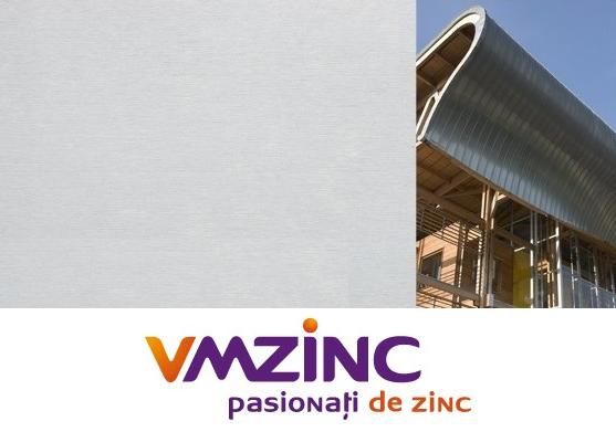Titan zinc natural sub forma de rulou cu latimea de 650mm, lungimea de 31m si grosimea de 0.65mm, Vmzinc [0]