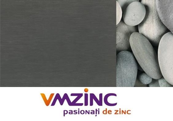 Tabla faltuita din titan zinc Quartz VMzinc 0.65mm (foaie 1000x2000mm) 0