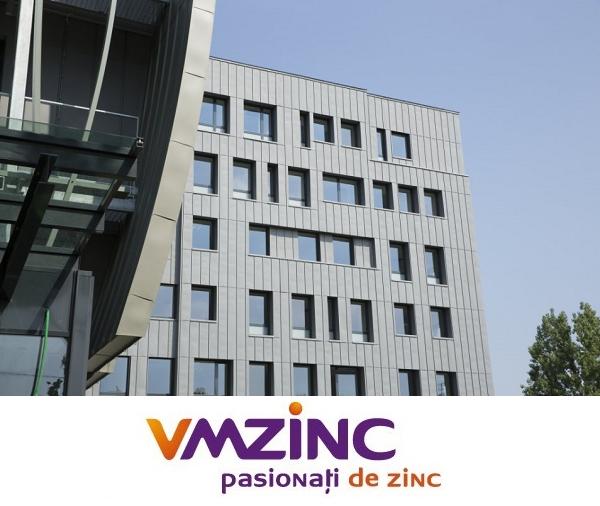 Tabla faltuita din titan zinc Quartz VMzinc 0.65mm (foaie 1000x2000mm) 2