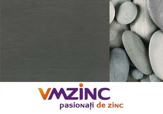 Tabla faltuita Titan zinc Quartz VMzinc 0.7mm (rulou latime 650mm) 0