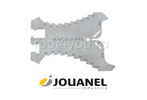 Trasator pentru zinc, profil acolada, Jouanel 0