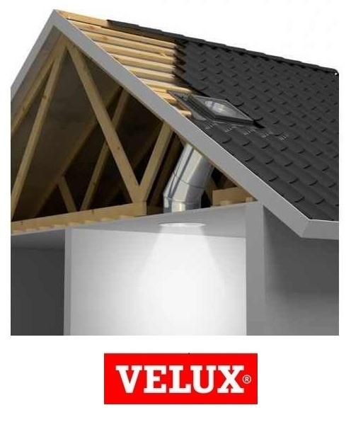 Tunel solar rigid Velux TWR 0K14 1