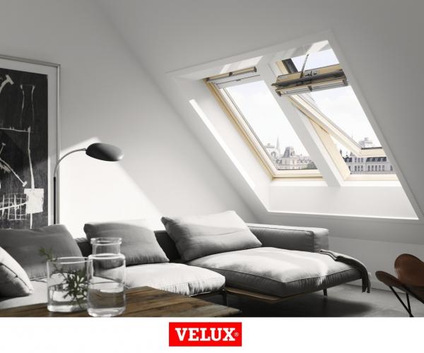 Velux Premium GGL 306621, 55/78, toc din lemn, deschidere mediana, geam triplu [6]
