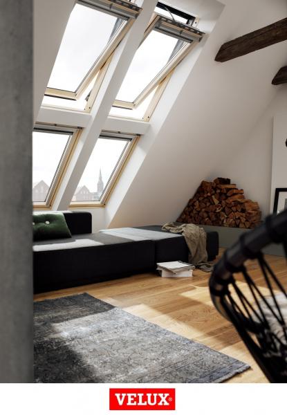 Velux Premium GGL 306621, 55/78, toc din lemn, deschidere mediana, geam triplu [5]
