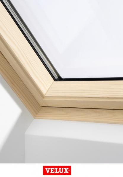 Velux Premium GGL 3066, 55/78, toc din lemn, deschidere mediana, geam triplu [1]