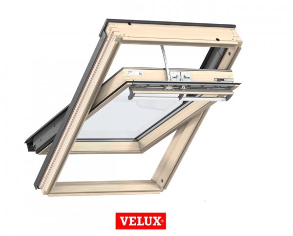 Velux Premium GGL 3066, 55/78, toc din lemn, deschidere mediana, geam triplu [0]