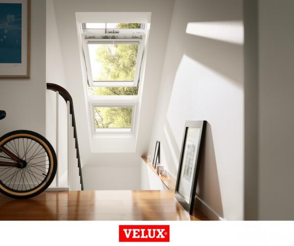 Velux Premium GGU 006621, 55/78, toc din poliuretan, deschidere mediana, geam triplu 5