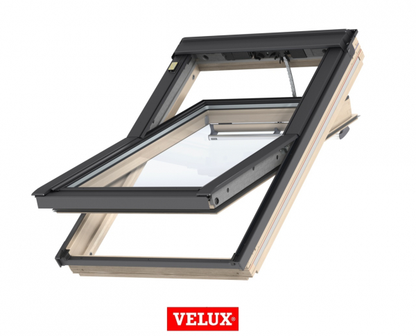 Velux Premium GGL 306630, 55/78, toc din lemn, deschidere mediana, geam triplu [0]