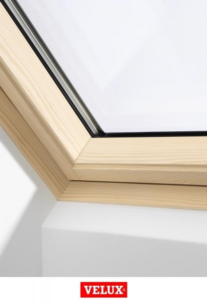 Velux Premium GGL 306640, 78/98, toc din lemn, deschidere mediana, geam triplu 3