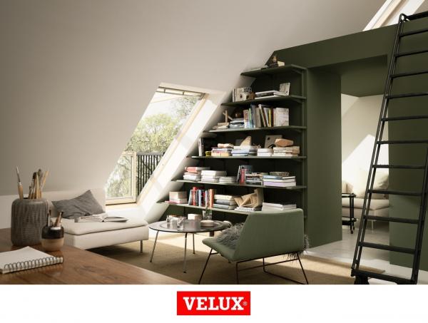 Velux GDL 3066, 114/252, toc din lemn, deschidere mediana, geam triplu 4