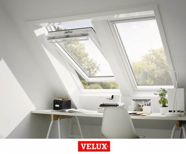 Velux Premium GGU 006630, 55/78, toc din poliuretan, deschidere mediana, geam triplu 11