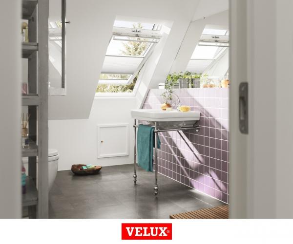 Velux Premium GGU 006630, 55/78, toc din poliuretan, deschidere mediana, geam triplu 6