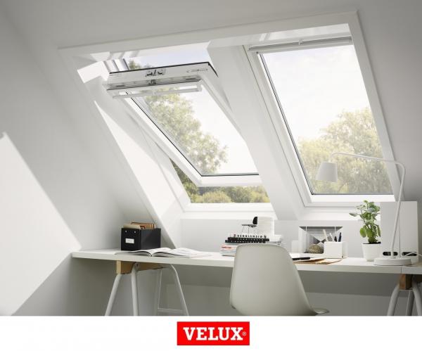 Velux Premium GGU 006630, 55/78, toc din poliuretan, deschidere mediana, geam triplu 3