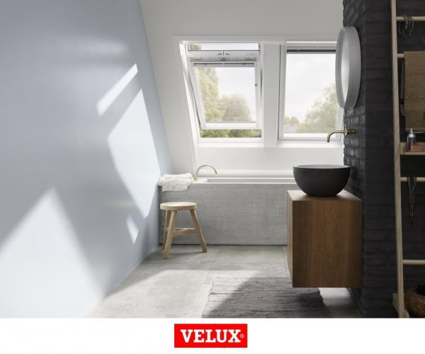 Velux Premium GGU 006630, 55/78, toc din poliuretan, deschidere mediana, geam triplu 7