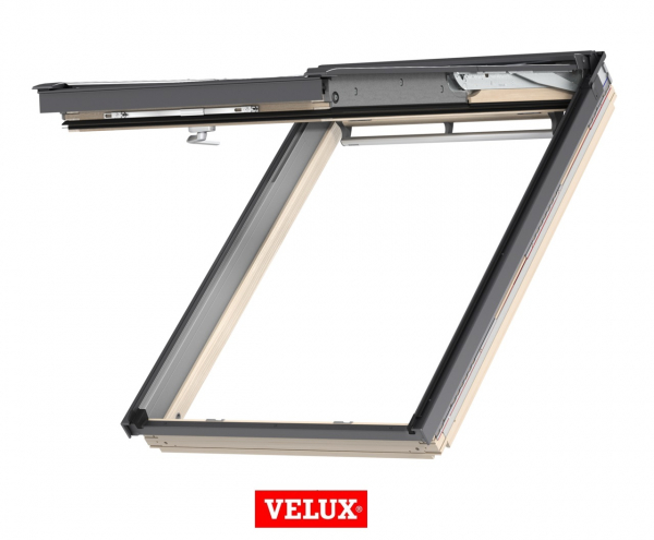 Velux Premium GPL 3066, 55/98, toc din lemn, deschidere mediana, geam triplu 1