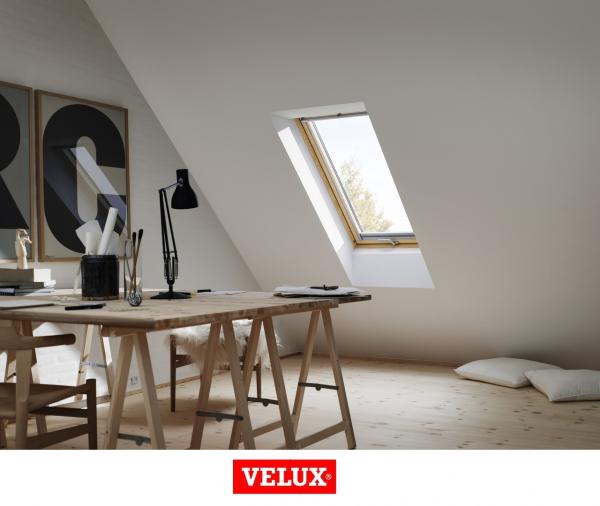 Velux Premium GPL 3066, 55/98, toc din lemn, deschidere mediana, geam triplu 2