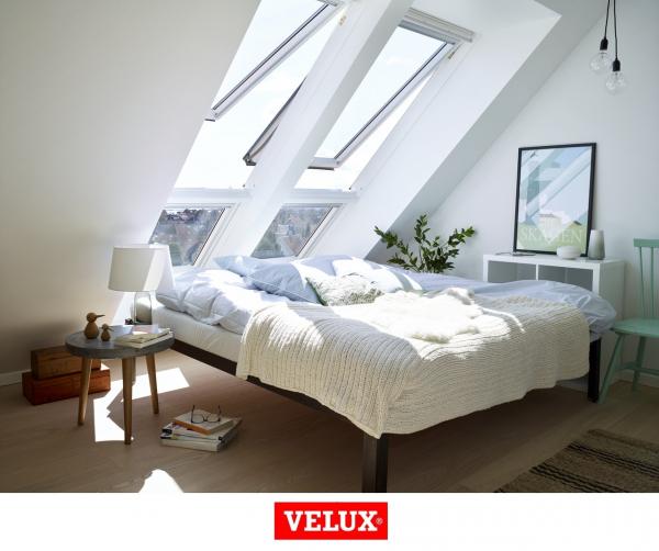 Velux Premium GPU 0066, 55/98, toc din poliuretan, deschidere mediana, geam triplu 5
