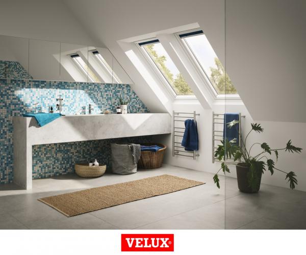 Velux Standard GLU 0051, 55/78, toc din poliuretan, deschidere mediana, geam dublu 3