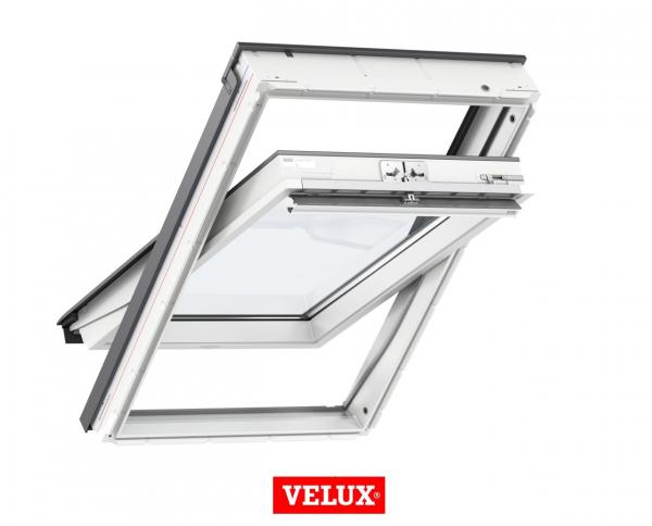 Velux Standard GLU 0061, 55/78, toc din poliuretan, deschidere mediana, geam triplu 1