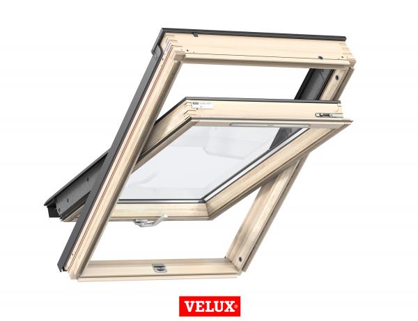 Velux Standard GZL 1051B, 66/118, toc din lemn, deschidere mediana, geam dublu 0