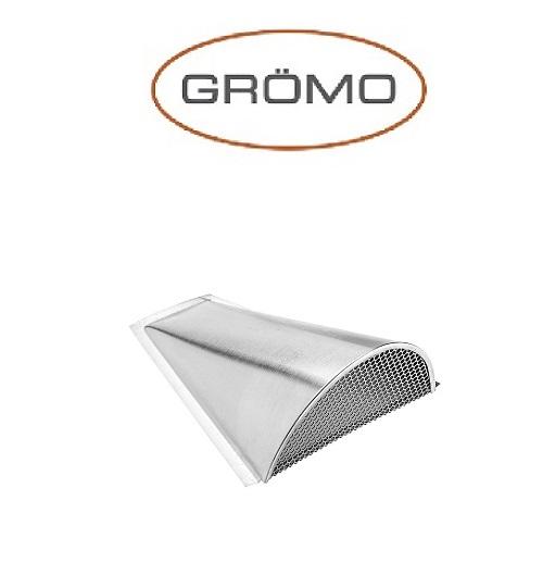Ventilator acoperis semicircular 260/160/90, Titan Zinc natural Gromo [0]