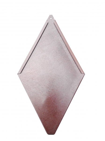 ECO-R line - solzi metalici din titan zinc Anthra model romboidali, 40buc/mp 0