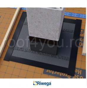 Membrana de difuzie pentru acoperis si fatade Riwega USB Fire Zero 720, 20x1.1=22mp1