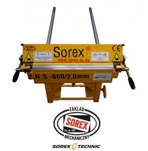 Abkant manual latime lucru 660 mm / 2.0 mm ZRS 660 Sorex1