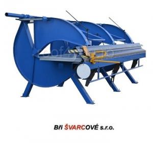 Abkant manual lungime de lucru 3m / 0.8 mm DOHh 3 Bri Svarcove1