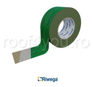 Banda adeziva profesionala de etansare verde 50mm Riwega0