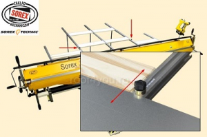 Bara suport spate ZRS Sorex5