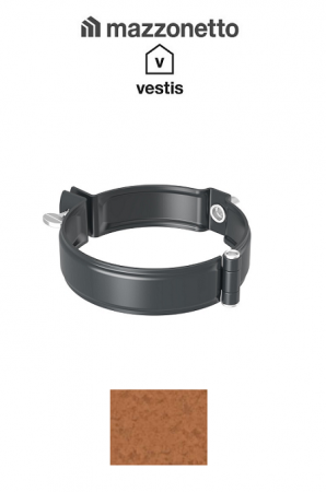 Bratara burlan semicircular Ø100, Aluminiu Mazzonetto Vestis, RAL Copper [0]